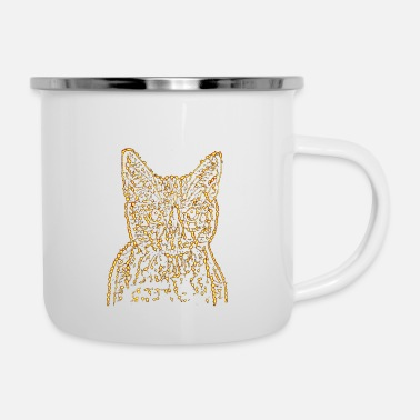 Firework cat kitty gift idea star hangover - Camper Mug