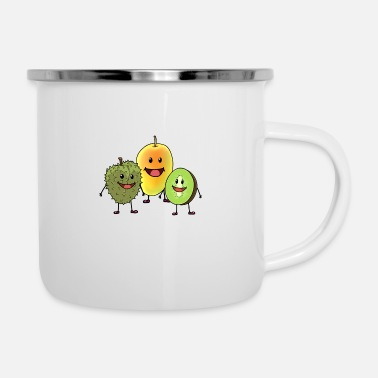 Fruit Fruit fruit fruits - Enamel Mug