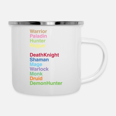 Class Classes - Enamel Mug