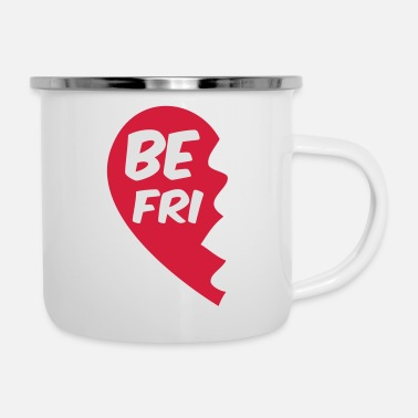 Best Friends Best friend - best friends shirt - best friend - Enamel Mug