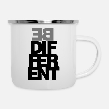 Be different - Enamel Mug