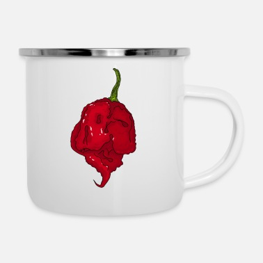 Skarp Chili Pepper Hot Sauce Carolina Reaper Spicy Food - Emaljmugg