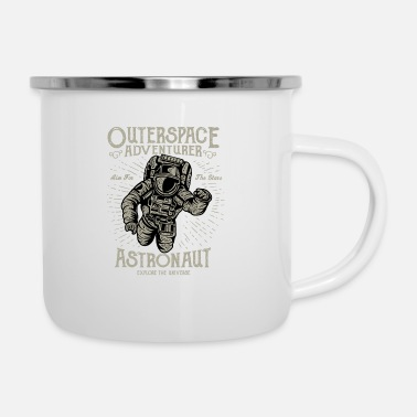 Outerspace Outerspace Adventurer Design - Enamel Mug