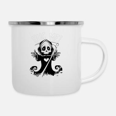 Scary Monster Halloween scary monster - Enamel Mug