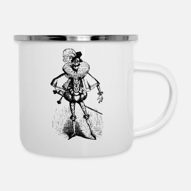Joke Joker - Emaille-Tasse