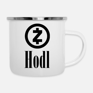Currency HODL ZCash Crypto currency | Crypto currency - Enamel Mug