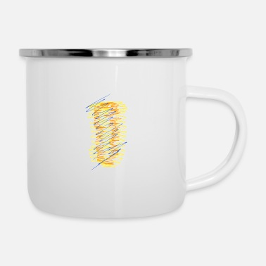 Mode Modern - Emaille-Tasse