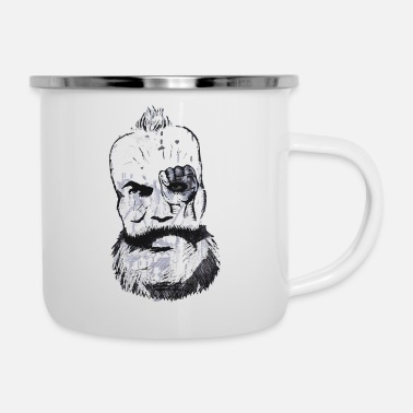 New German States Karl Marx - Enamel Mug