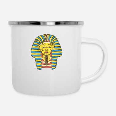 Mythology egypt religion symbol gift culture - Enamel Mug