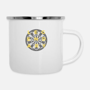 Day Legendary Darts! - Emaille-Tasse