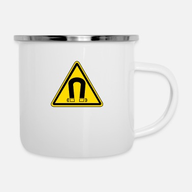 The Magnet Magnetic - Enamel Mug