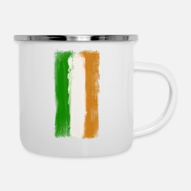 National Drapeau national irlandais - Tasse émaillée