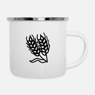 Wheat wheat - Enamel Mug