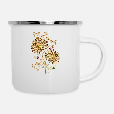 Best flowers - Enamel Mug