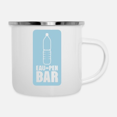 water pen bar open humor - Enamel Mug
