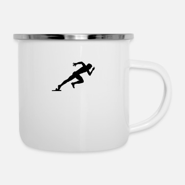 Sprint Sprinter - Emaille-Tasse