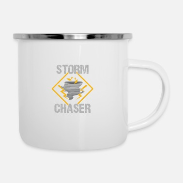 Storm Storm Spotter Storm Chaser Gift Storm escorts - Emaille mok