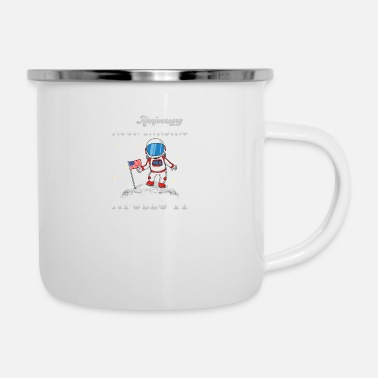 11 50th Anniversary Moon Landing Kids Apollo 11 - Enamel Mug