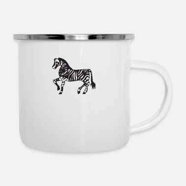 Illustration Zebra illustration - Enamel Mug