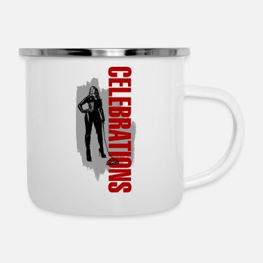 Celebrate Celebrations - Enamel Mug