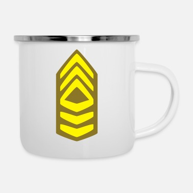 Code Military Insignia Badge - Emaille-Tasse