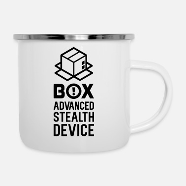 Pappkarton Box Stealth Device 01 - Emaille-Tasse