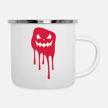Scary Monster scary monsters - Enamel Mug