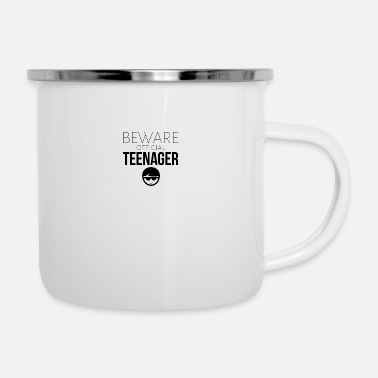 Teenager Beware of the official teenager - Emaille-Tasse