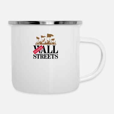 Critical Theory You Must Besiege All The Streets! - Enamel Mug