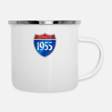Since Since 1955 - Emaille-Tasse