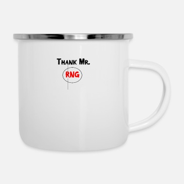Fps Thank Mr RNG FPS Gamer Rot - Emaille-Tasse
