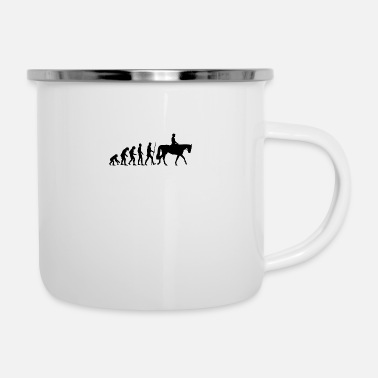 Dressage Dressage Evolution - Enamel Mug
