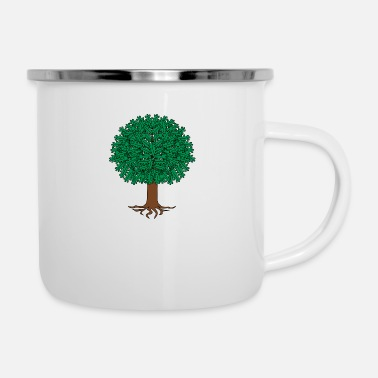 Illustration Tree illustration - Enamel Mug
