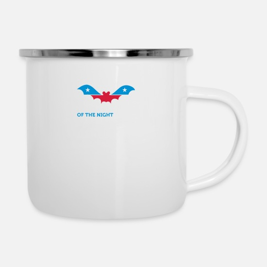 Politics Mugs & Drinkware - Political Party Animals: Vampire - Enamel Mug white