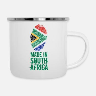 South Made In South Africa / South Africa - Enamel Mug