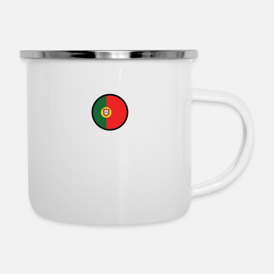 Portugal Mugs & Drinkware - Marked By Portugal - Enamel Mug white