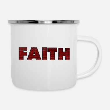 Mauer Faith Mauer - Emaille-Tasse