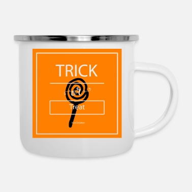 Trick Or Treat trick or treat - Mug émaillé