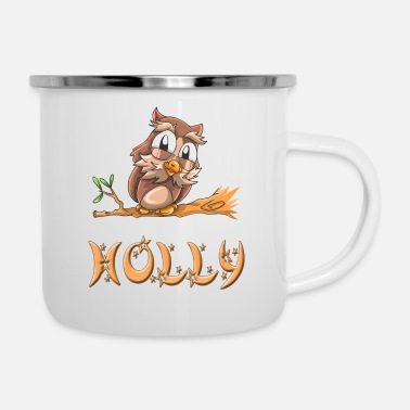 Holly Eule Holly - Emaille-Tasse