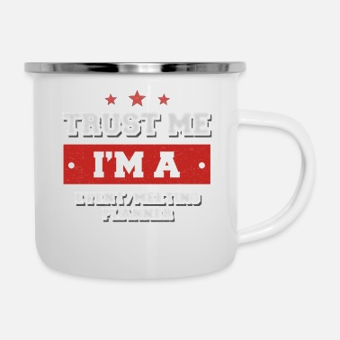 Meeting Trust me I'm a event meeting planner - Emaille-Tasse