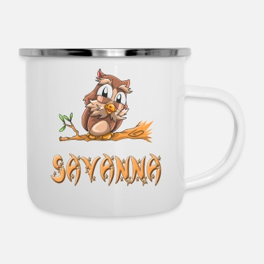Savanna Owl Savanna - Enamel Mug
