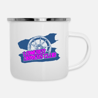 Streaker LOWERED DRIVERS CLUB - Enamel Mug