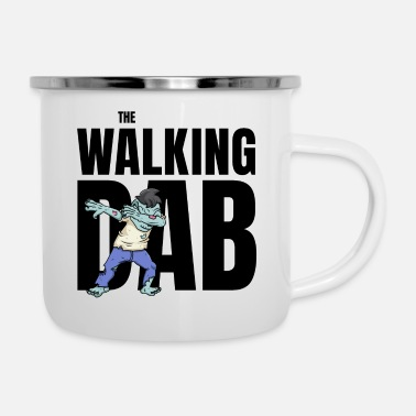 Zombies The Walking DAB Zombie Boy Dabbing Halloween sw - Emaille-Tasse