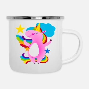 Brutto Unicorno brutto - Tazza smaltata