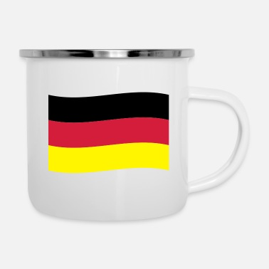 Flag Germania Flag Flag - Tazza smaltata