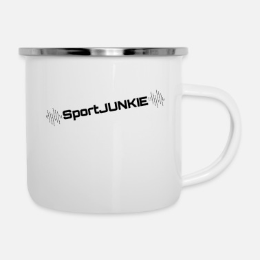 Sports Junkie Sports - Tazza smaltata