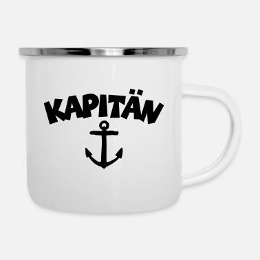 Cruise Ship Kapitän Anchor (EU) - Enamel Mug