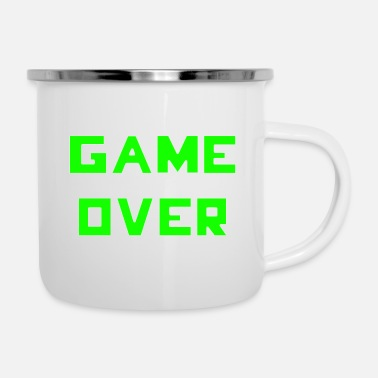 Game Over Game Over - Taza esmaltada