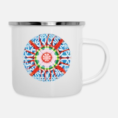Celtic Celtic-Ball - Emaille-Tasse