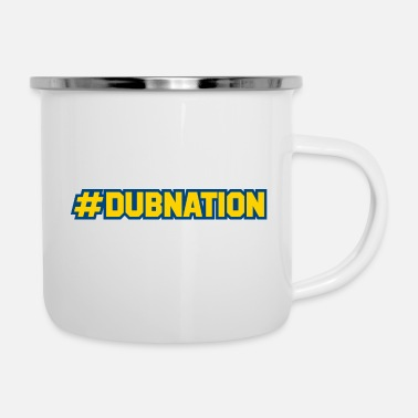 Dub Dub nation Graphic - Emaljekrus